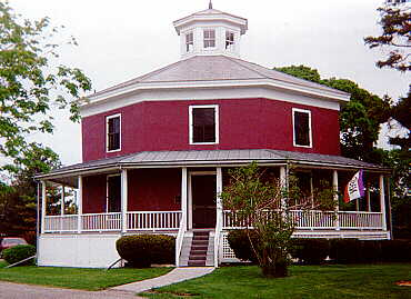 Octagon house camillus ny for Octagon homes